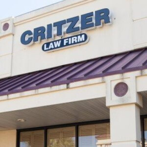 Critzer Law Firm marquee-sign